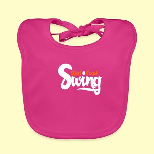 West Coast Swing Dance Geschenk T-Shirt - Baby Bio-Lätzchen