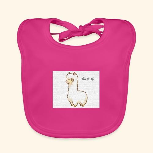 lama / alpaca - Baby Bio-Lätzchen