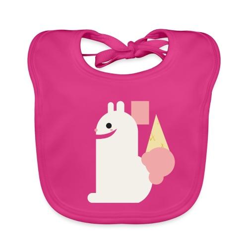 Ice cream bunny - Baby Organic Bib