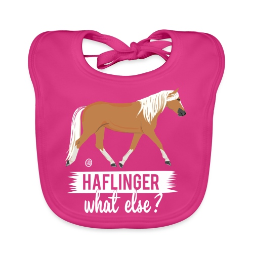 Haflinger- what else MP - Baby Bio-Lätzchen