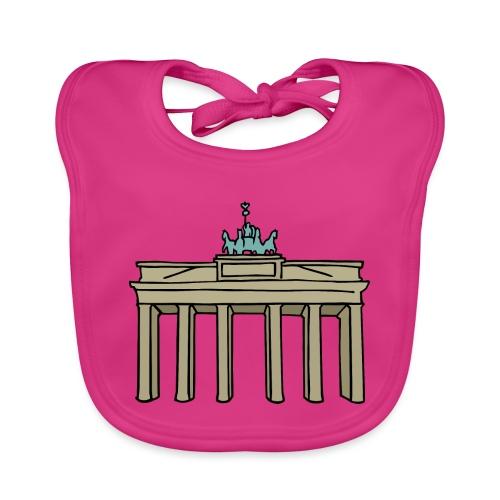 Porta di Brandeburgo a BERLINO c - Bavaglino ecologico per neonato