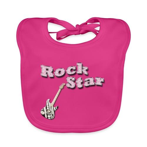 Rock star - Baby Bio-Lätzchen