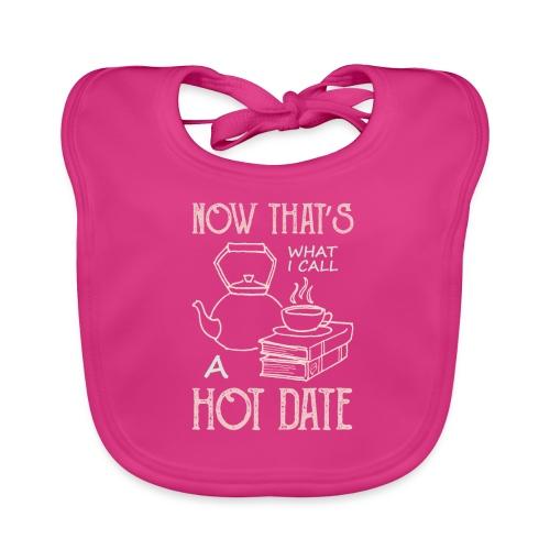 0212 Das nenne ich einmal ein heißes Date - Baby Organic Bib