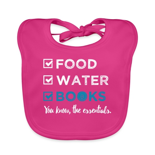0262 Books | Reading | The important and essential - Baby Organic Bib