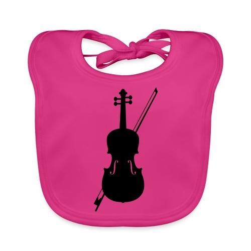 Violin - Bio-slabbetje voor baby's