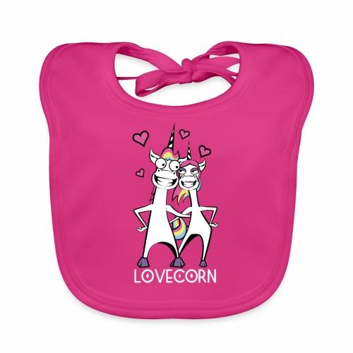 Lovecorn - Baby Bio-Lätzchen