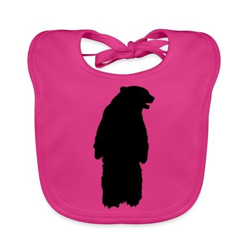 SB ZOO LOGO BEAR - Baby Bio-Lätzchen
