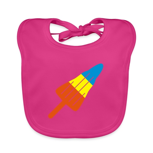 ZOOM ROCKET LOLLY: choose three different flavours - Organic Baby Bibs