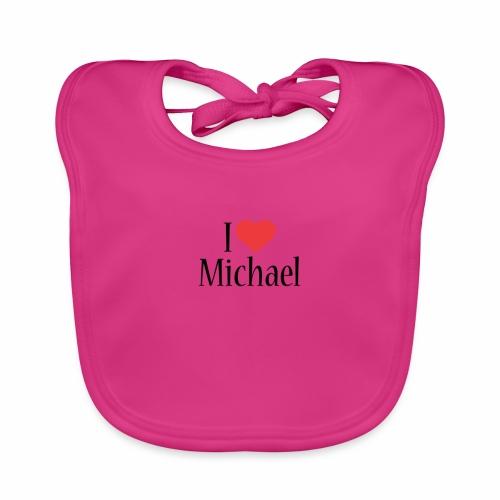 Michael designstyle i love Michael - Baby Organic Bib