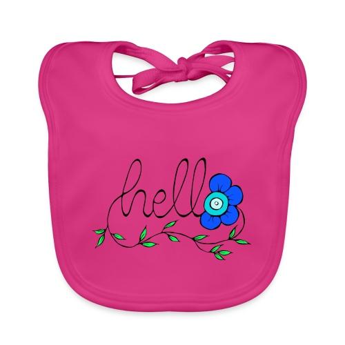 Hello Blume. - Baby Bio-Lätzchen