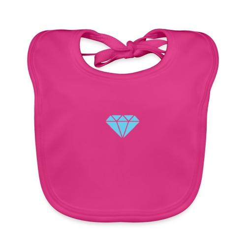Diamond Shine - Ekologisk babyhaklapp