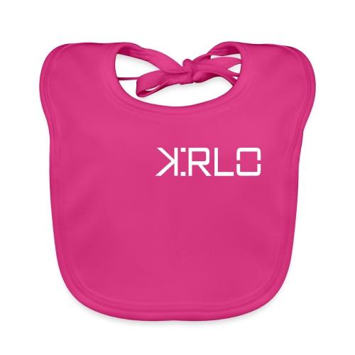 Kirlo Logo Blanco - Babero ecológico bebé