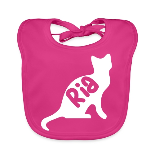 Team Ria Cat - Baby Organic Bib