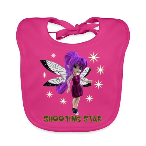 Shooting Star - Baby Bio-Lätzchen