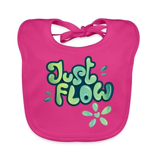 Just flow Liquid Lettering - Baby Bio-Lätzchen