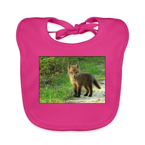 vossen shirt kind - Bio-slabbetje voor baby's
