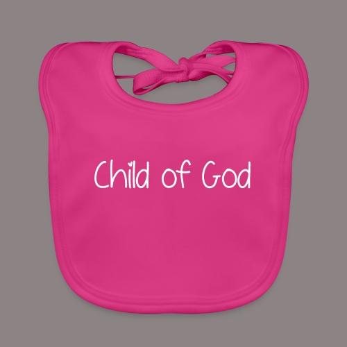 Child of God (Mädchen) - Baby Bio-Lätzchen