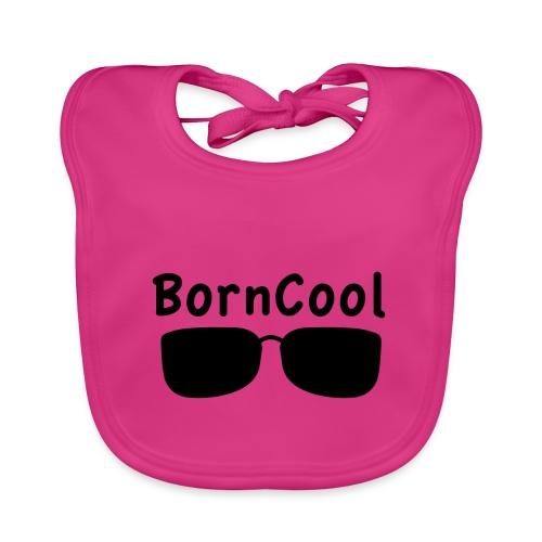BornCool glasses, svart - Ekologisk babyhaklapp