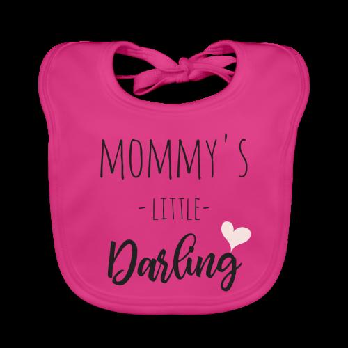 Mommy's little darling - Baby Bio-Lätzchen
