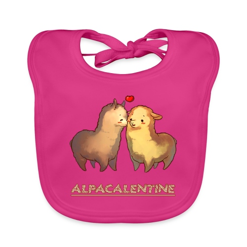ALPACALENTINE - Baby Organic Bib