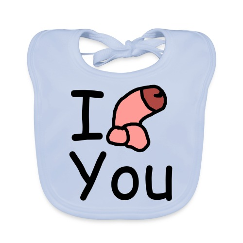 I dong you pillow - Baby Organic Bib