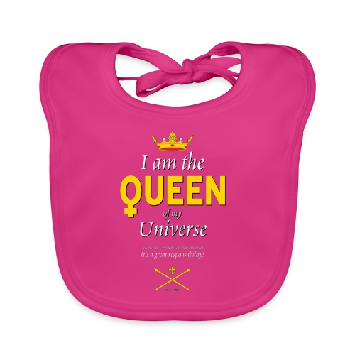 Royal Queen T-shirt - PAN Design - Drottning - Ekologisk babyhaklapp