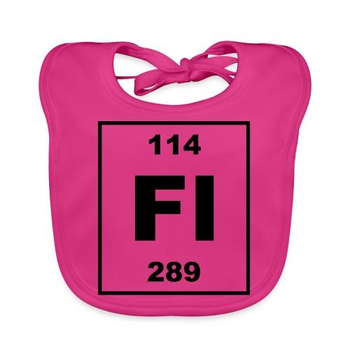 Flerovium (Fl) (element 114) - Baby Organic Bib