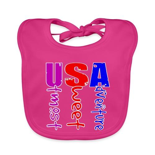 USA-Utmost Sweet Adventure - Bavoir bio Bébé