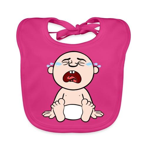 Heulendes Baby - Baby Bio-Lätzchen