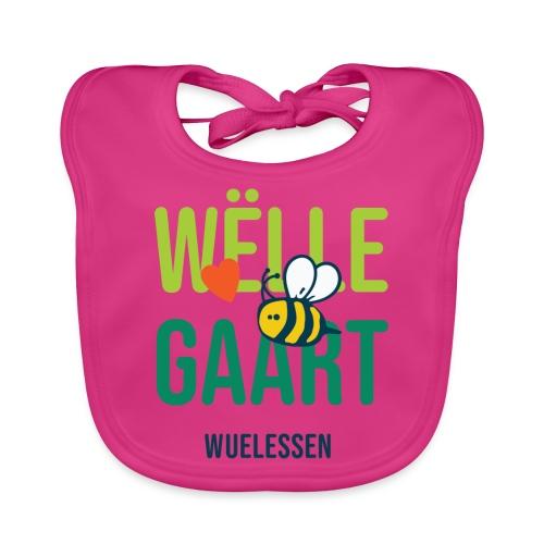 De Wëlle Gaart - Baby Bio-Lätzchen