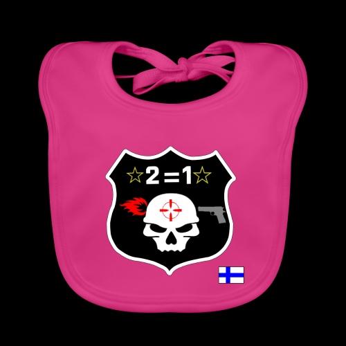 Paita logo selkä VÄRILLINEN png - Vauvan ruokalappu