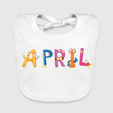 April - Babero ecológico bebé