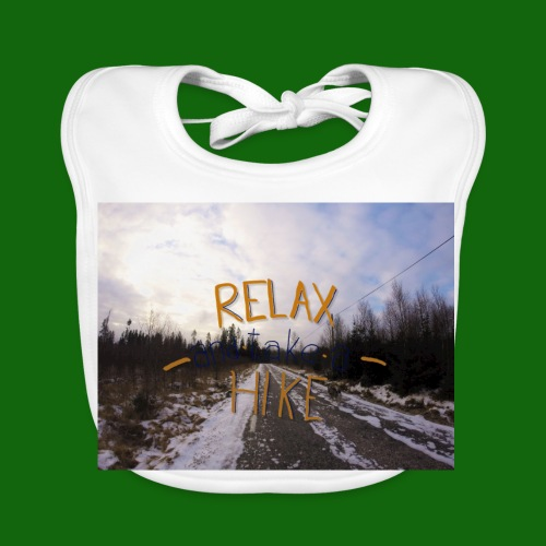 Relax and take a hike - Baby Organic Bib