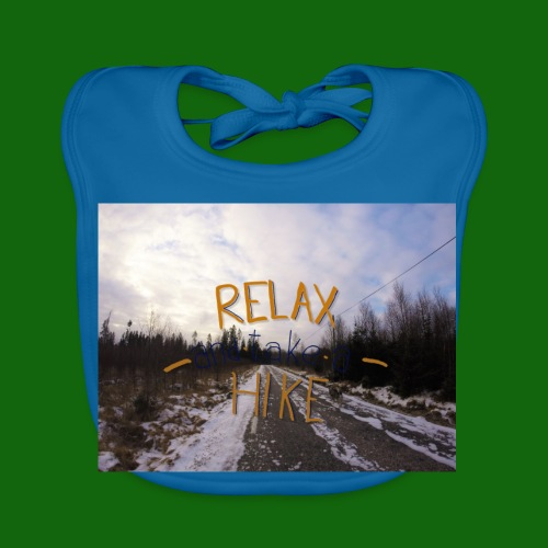 Relax and take a hike - Baby Organic Bib