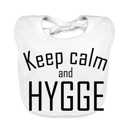 HYGGE - Keep calm - Baby Bio-Lätzchen