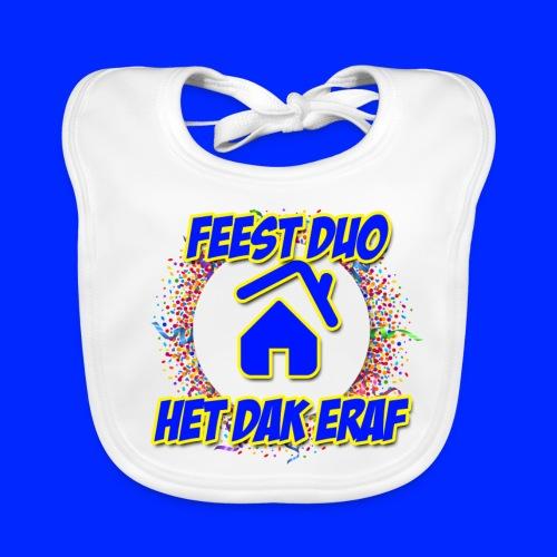 Feest Duo Hoesjes - Bio-slabbetje voor baby's