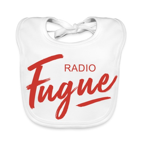 Radio Fugue Red - Bavoir bio Bébé