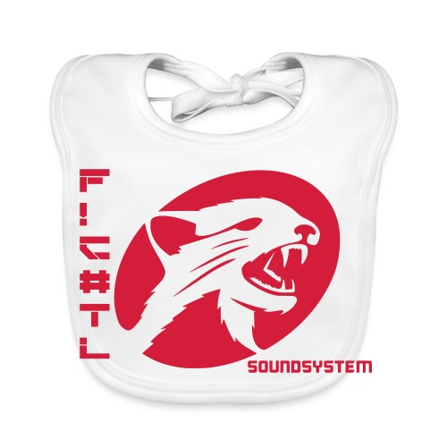 F!€#TL Soundsystem Rot - Baby Bio-Lätzchen