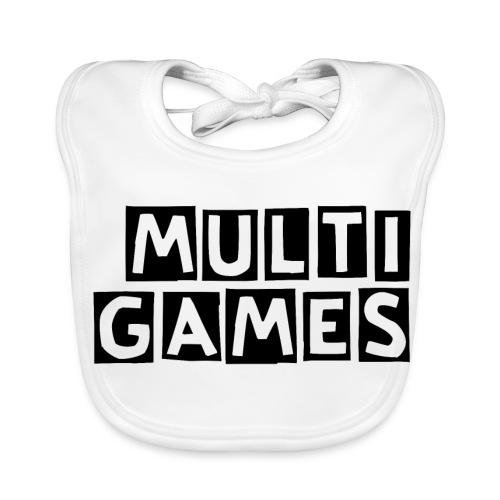 Multi Games zwart - Bio-slabbetje voor baby's