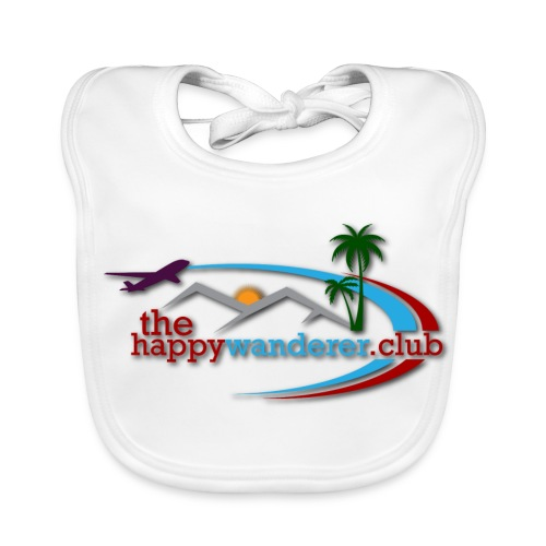 The Happy Wanderer Club Merchandise - Baby Organic Bib