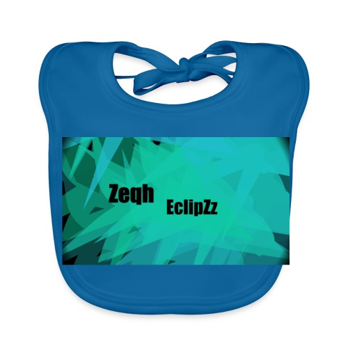Zeqh EclipZz Youtube Name - Baby Organic Bib