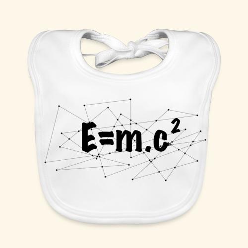 e=m.c^2 - Bavoir bio Bébé