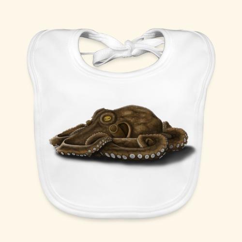Oktopus - Baby Bio-Lätzchen