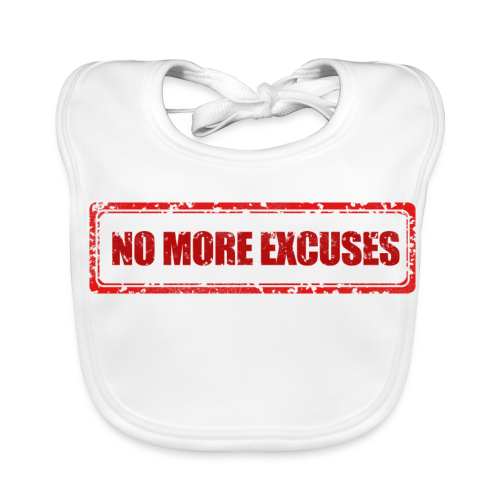 NO MORE EXCUSES - Bio-slabbetje voor baby's