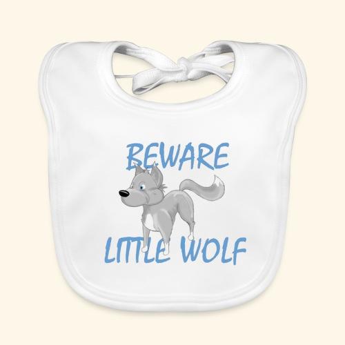 Petit loup - Bavoir bio Bébé