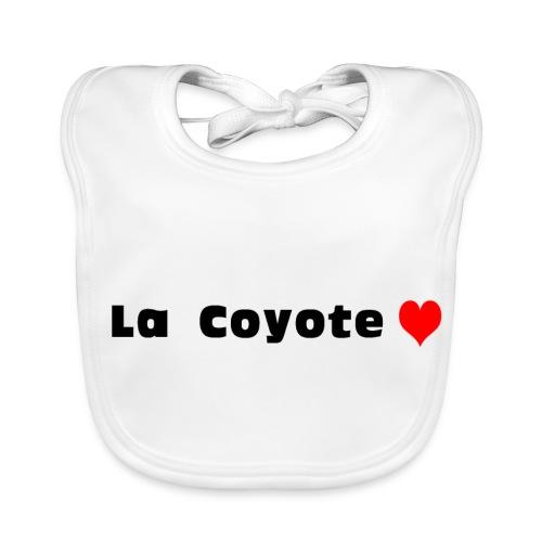 La Coyote - Bavoir bio Bébé