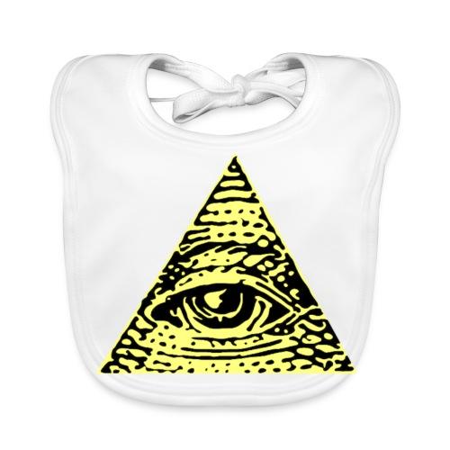 Illuminati - Ekologisk babyhaklapp