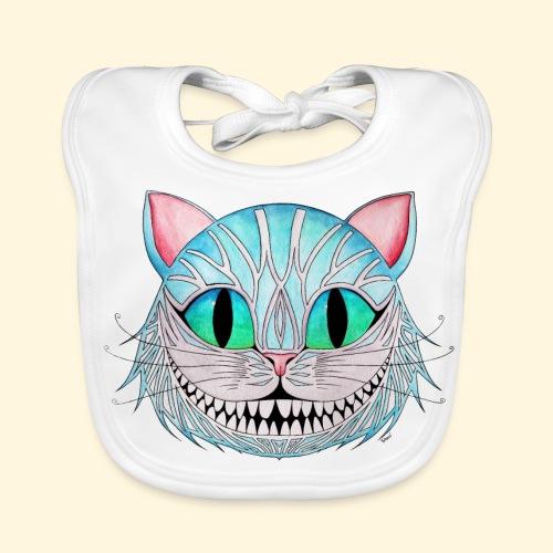 Le Chat de Cheshire - Bavoir bio Bébé
