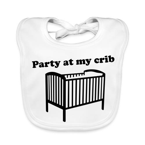 Party At My Crib - Baby Organic Bib