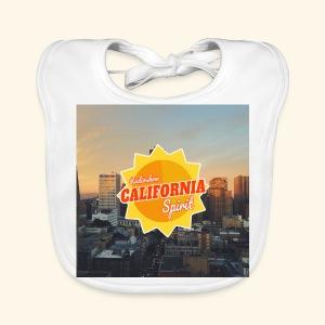 California Spirit City - Bavoir bio Bébé